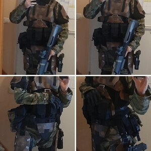 Cole's Halo Airsoft Gear