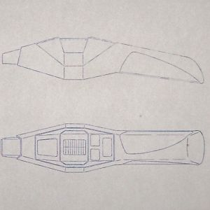 My own concept design for a Phaser from ST:TNG era