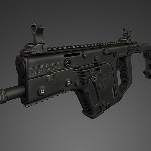 KRISS Vector 2k render