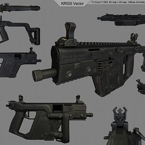 KRISS Vector Renders