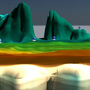 stage for the Epilogue with shade Turrets -working-